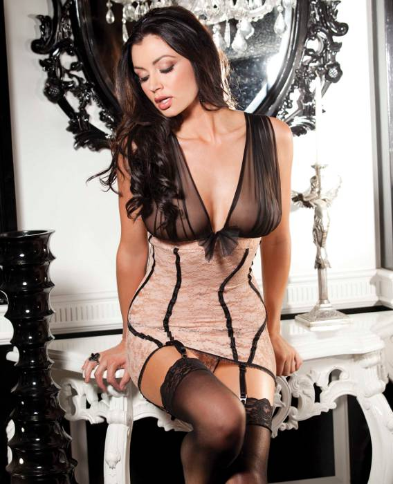 Striped Chemise